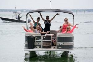 Boat-Rental-Destin-happy-boaters
