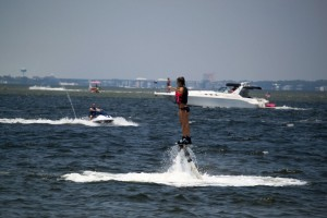 Flyboard-Rental-lady-flying-with-boat