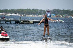 Flyboard-Rental-young-girl-with-crab-island